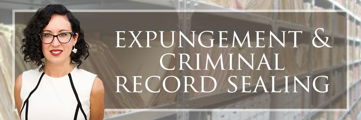 expungement & criminal record sealing