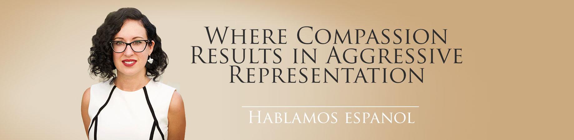 Where Compassion Results in Aggressive Representation