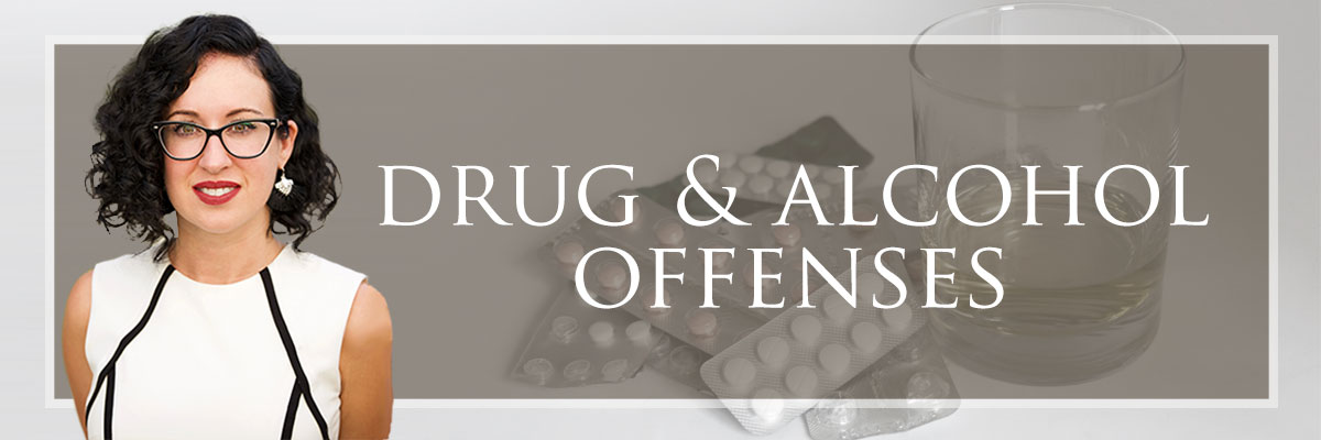 drug and alcohol offenses
